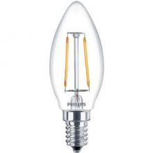 Philips Bombilla LED Vela Philips 2,5 W. E14