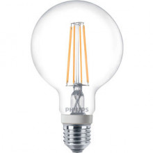 Philips Bombilla LED Globo Claro 8W E27 Philips