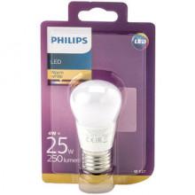 Philips Bombilla LED Esférica Philips 4W. E27