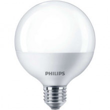 Philips Bombilla LED Globo mate 9,5 W. E27 Philips