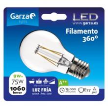 Garza Bombilla LED filamentos estándar E27 9W