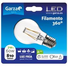 Garza Bombilla LED filamentos estándar E27 7W