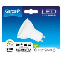 Garza Bombilla LED dicroica GU10 8W