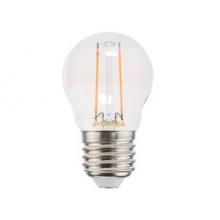 SYLVANIA Bombilla LED retro filamento esférica E27 2,5W